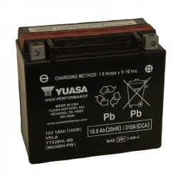BATERIA MOTO YUASA YTX20HL-BS HIGH PERFORMANCE