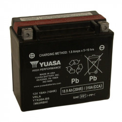 BATERIA MOTO YUASA YTX20H-BS HIGH PERFORMANCE