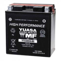 BATERIA MOTO YUASA YTX20CH-BS HIGH PERFORMANCE