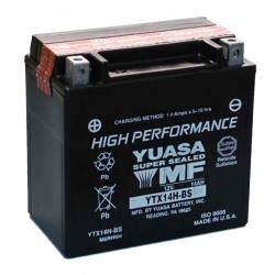 BATERIA MOTO YUASA  YTX14H-BS HIGH PERFORMANCE