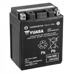 BATERIA MOTO YUASA  YTX14AHL-BS HIGH PERFORMANCE