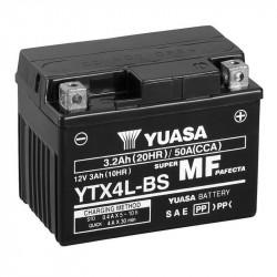 BATERIA MOTO YUASA YTX4L-BS LIBRE MANTENIMIENTO