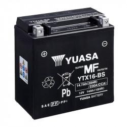 BATERIA MOTO YUASA YTX16-BS LIBRE MANTENIMIENTO