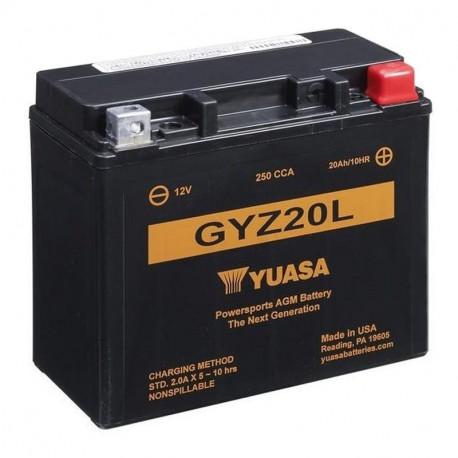 BATERIA MOTO YUASA GYZ20L HIGH PERFORMANCE
