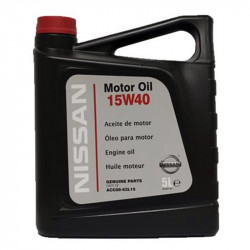 NISSAN GENUINE MOTOR OIL 15W40