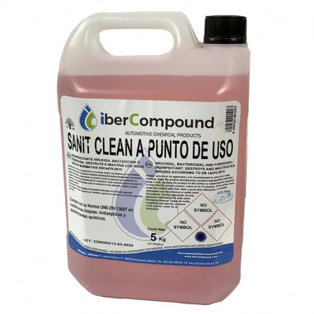 SANIT CLEAN DESINFECTANTE ANTISEPTICO