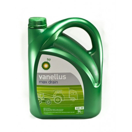 (5 Litros) BP VANELLUS MAX DRAIN 5W30 5LT.