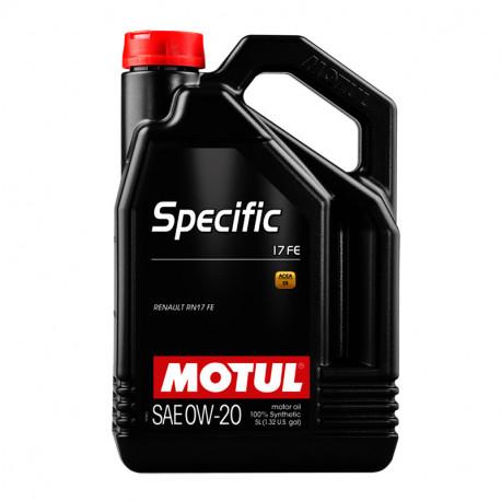 MOTUL SPECIFIC 17 FE 0W-20