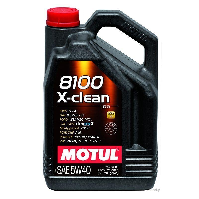 MOTUL 8100 X-CLEAN 5W40 C3