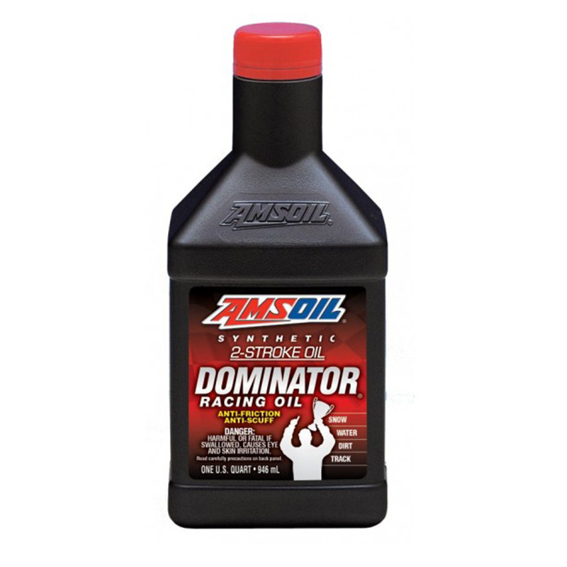 AMSOIL DOMINATOR SYNTHETIC 2T RACING OIL